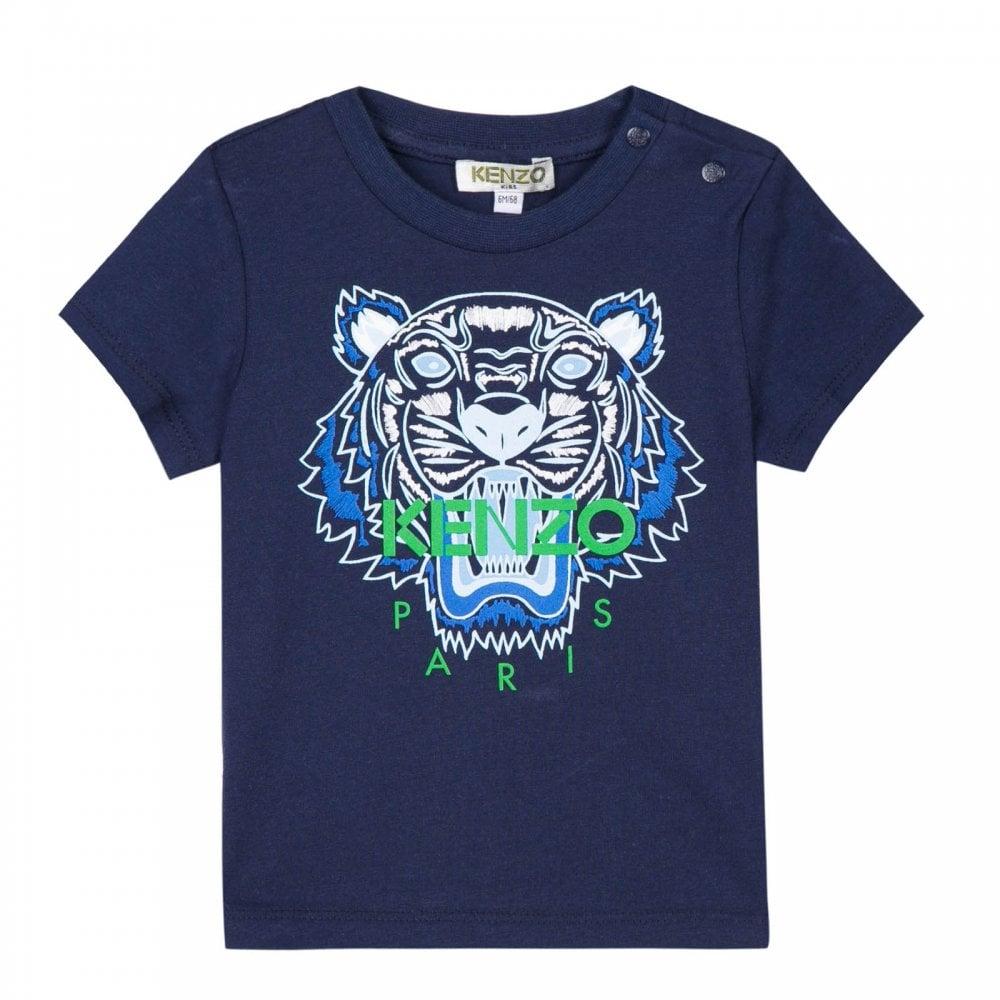 662af9aa Kenzo Kids Infants Tiger BB 1 T-Shirt (Navy) - Kids from Loofes UK