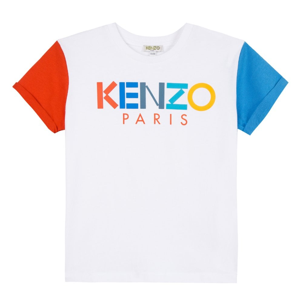 f12235cb Kenzo Kids Juniors Edvy Frozen T-Shirt (White) - Kids from Loofes UK