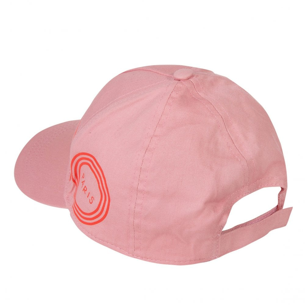 aad15a2bac4 Kenzo Kids Juniors JG 27 Logo Print Cap (Pink) - Kids from Loofes UK