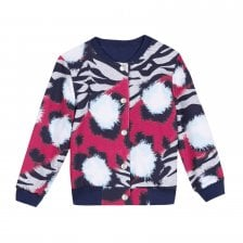 75a0678b842 Kenzo Kids Juniors Reversible Jacket (Navy)
