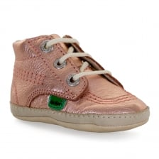 Kickers Infants 1st Kicks 317 Shoes (Rose Gold)
