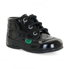Kickers Infants HI Patent Boots (Black)