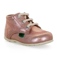 Kickers Infants Kick HI Baby 317 Boots (Rose Gold)