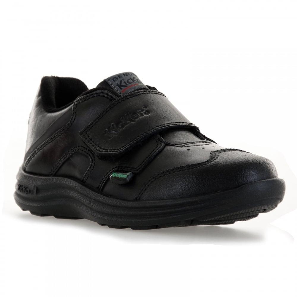 Kickers Infants Season Strap 316 Shoes Black