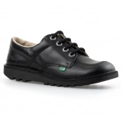 Kickers Juniors Low Core Shoes (Black)