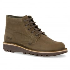 Kickers Mens HI Leather Boots (Khaki)