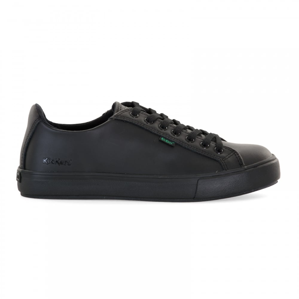 77a6d5c1a6afe3 Kickers Mens Tovni Lacer Shoes (Black) - Mens from Loofes UK