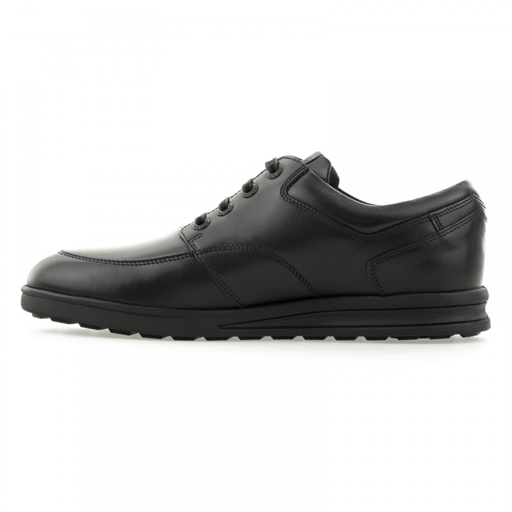 8103d9cdb8d0d0 Kickers Mens Troiko Lace Leather Shoes (Black) - Mens from Loofes UK