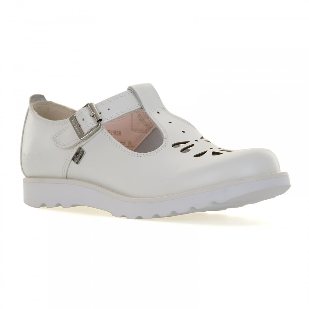 Kickers Womens Kick T Suma Shoes (White) - Womens from ...