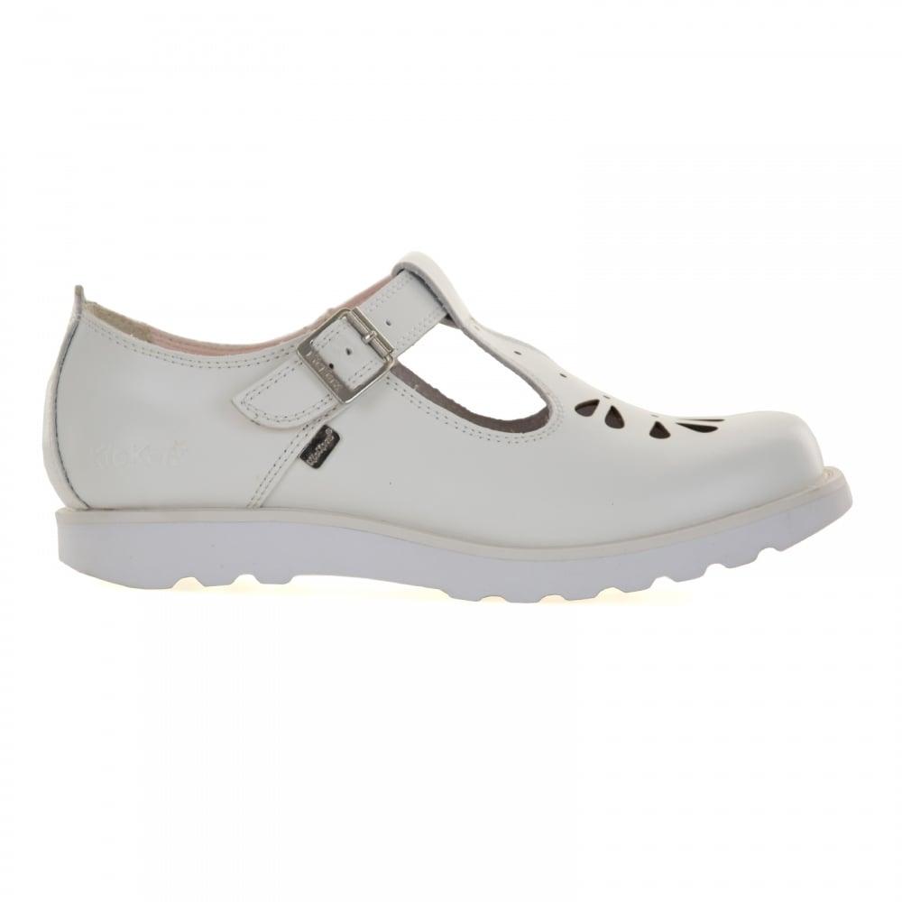 KICKERS Kickers Womens Kick T Suma Shoes (White) - KICKERS ...