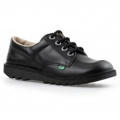 Kickers Youths Low Core Shoes (Black)