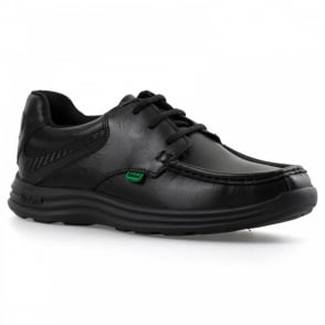 Kickers Youths Reasan Lace Shoes (Black) 1ec5f336a