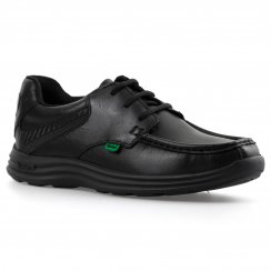 Kickers Youths Reasan Lace Shoes (Black)