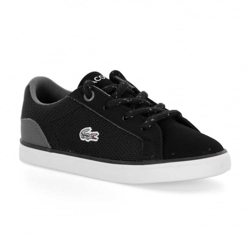 Lerond Trainers in Black - Black Lacoste 0qmS0Am