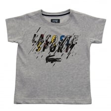 Lacoste Juniors Graphic T-Shirt (Grey)