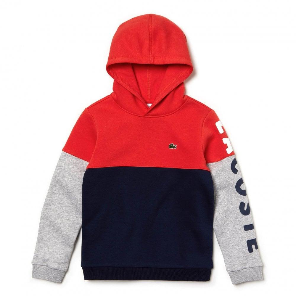 592cd231 Juniors Hoodie (Red / Navy)