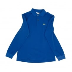 Lacoste Juniors Long Sleeve Polo Shirt (Royal Blue)