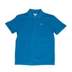 Lacoste Juniors Pique Polo Shirt (Royal Blue)