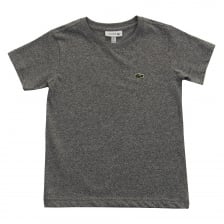 Lacoste Juniors Plain T-Shirt (Grey)