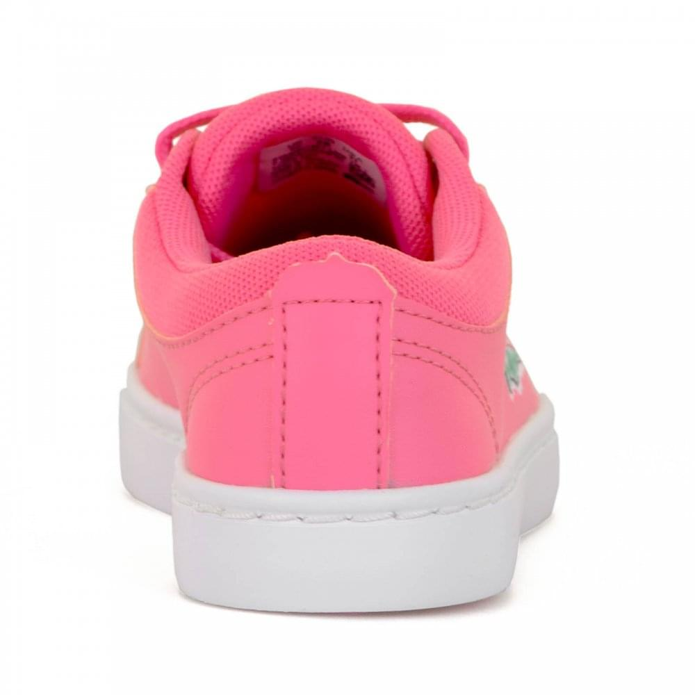 871b9be871c97 Lacoste Juniors Straightset Trainers (Pink) - Kids from Loofes UK