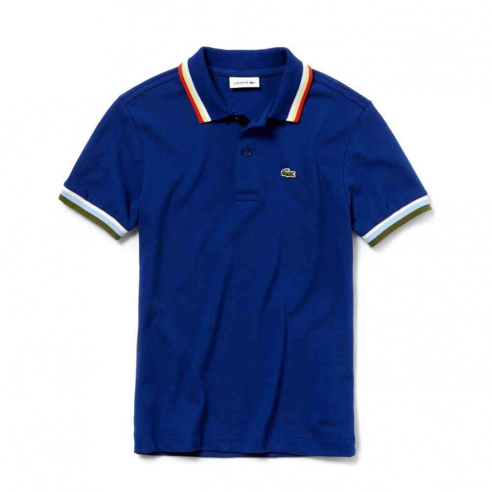 2e9d26fead Lacoste Striped Polo Shirt – EDGE Engineering and Consulting Limited