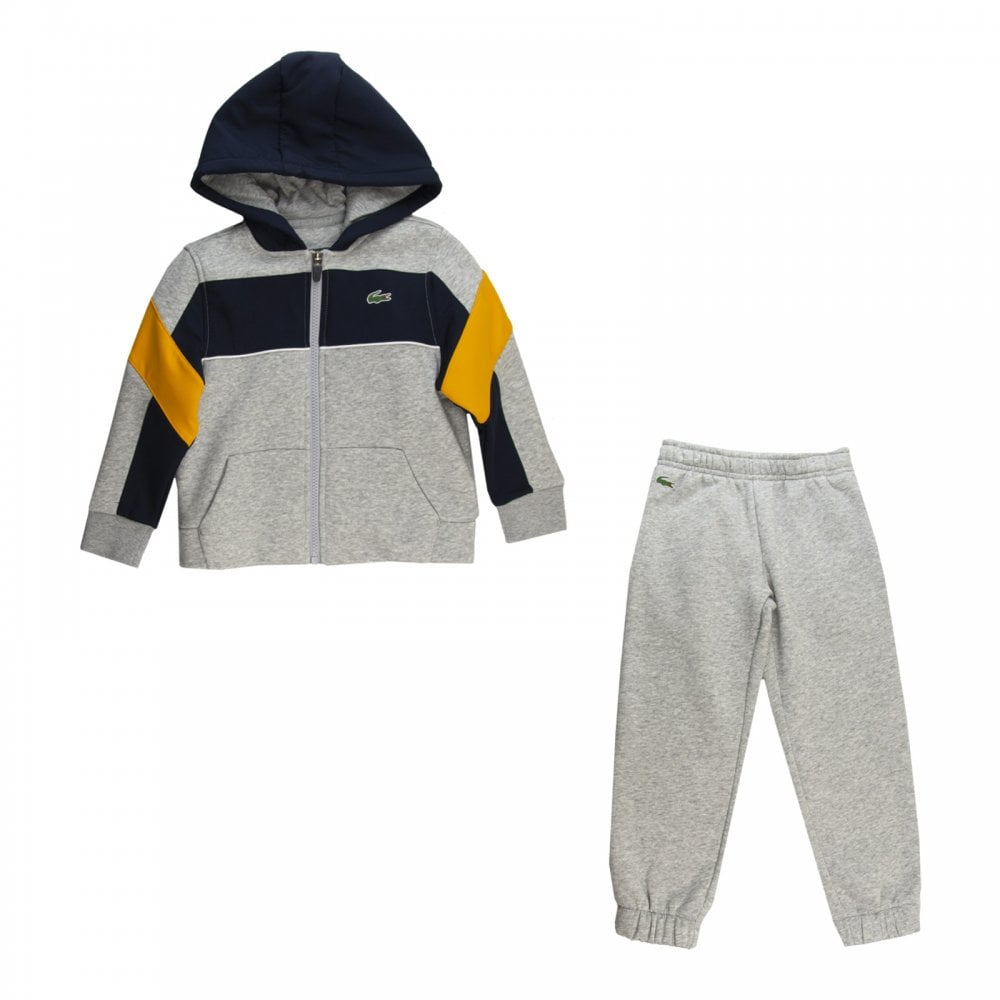 310bf5f70 Lacoste Juniors Tracksuit (Grey) - Kids from Loofes UK