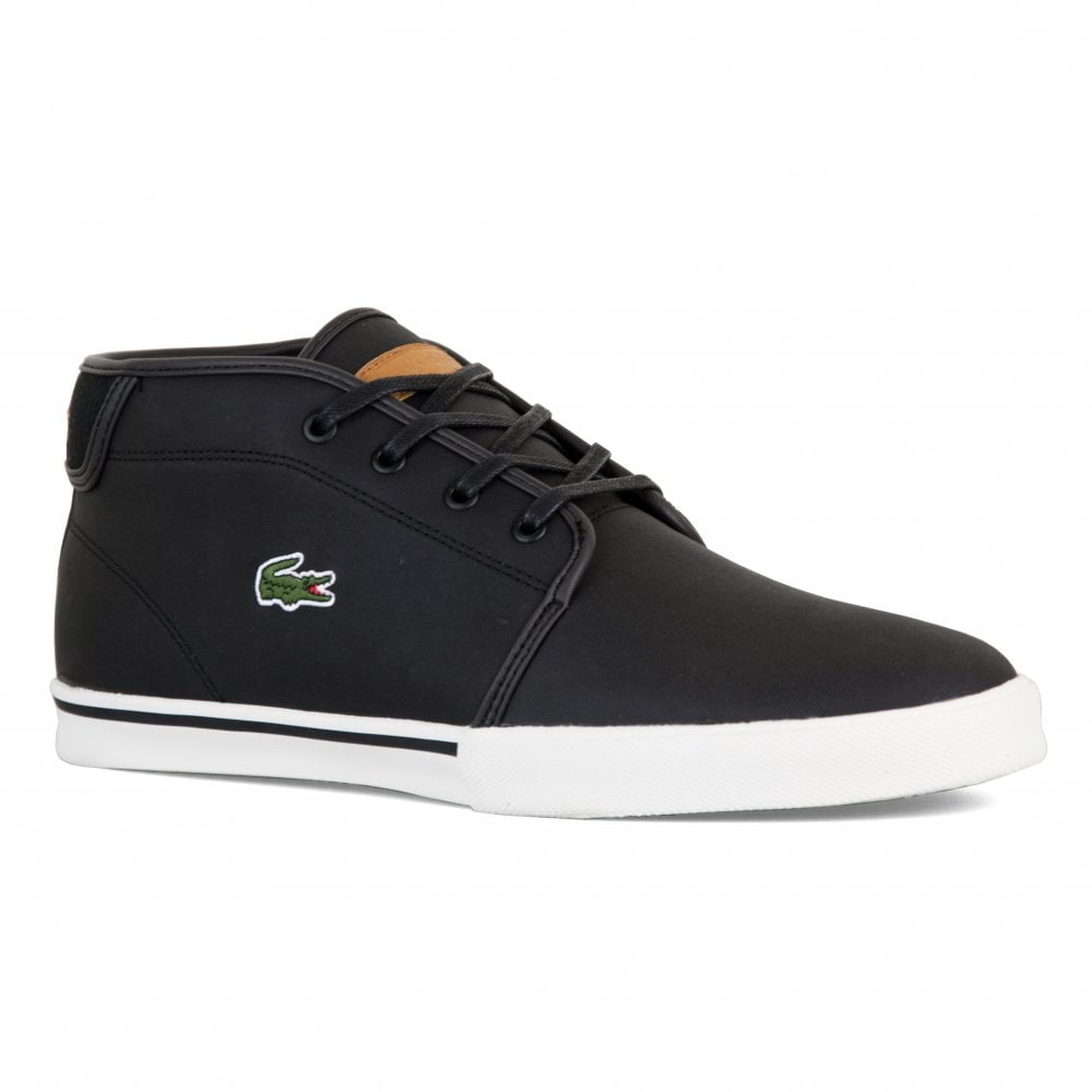 7690675288992e Lacoste Mens Ampthill Trainers (Black) - Mens from Loofes UK