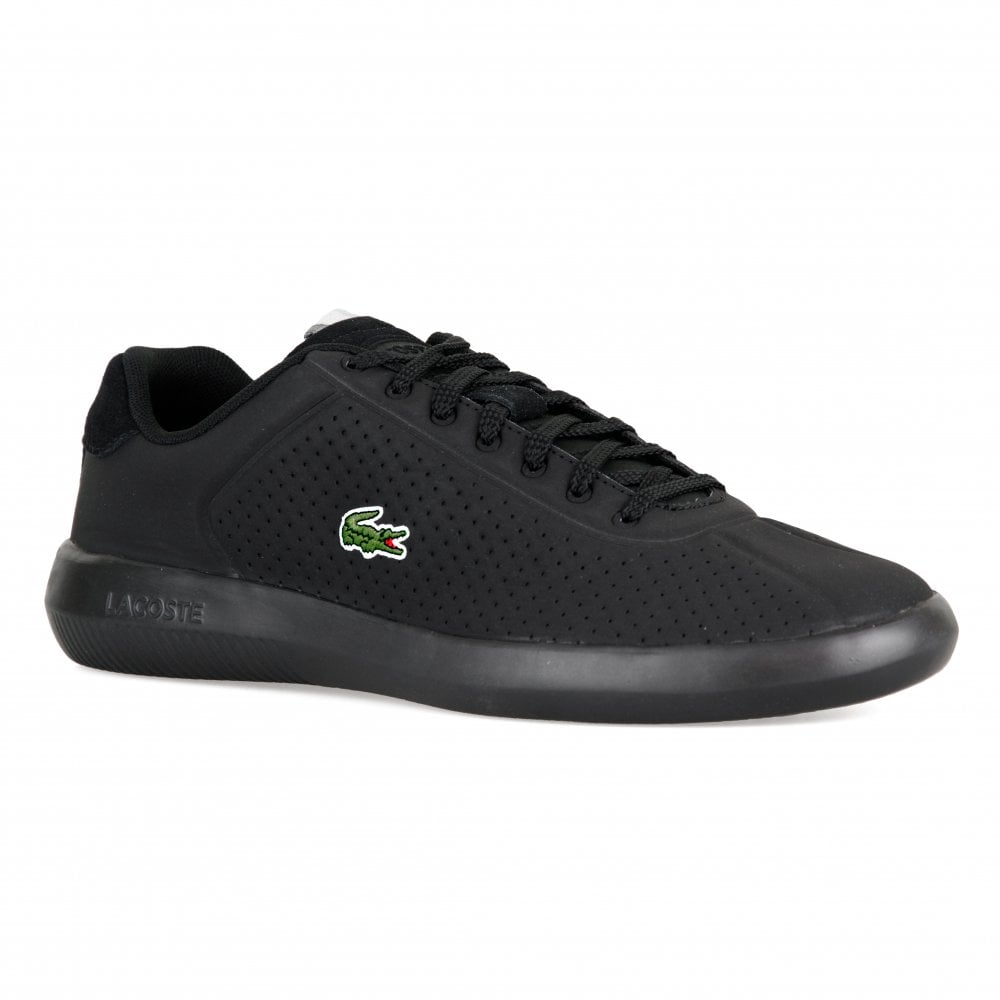 68ea2cd02190 Lacoste Mens Avance Trainers (Black) - Mens from Loofes UK