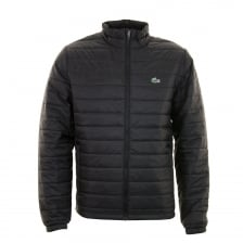 Lacoste Mens BH9357 Puffer Jacket (Black)