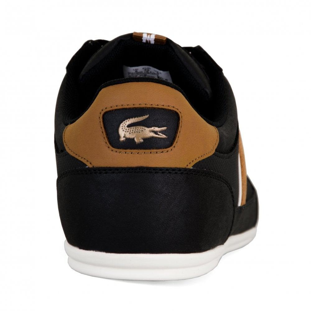 c6499e4d1 Lacoste Mens Chaymon Trainers (Black) - Mens from Loofes UK