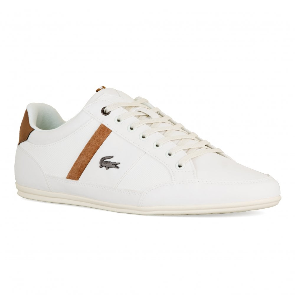 01c533b41 Lacoste Mens Chaymon Trainers (White) - Mens from Loofes UK
