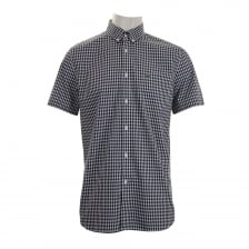 Lacoste Mens Check Shirt (Navy)