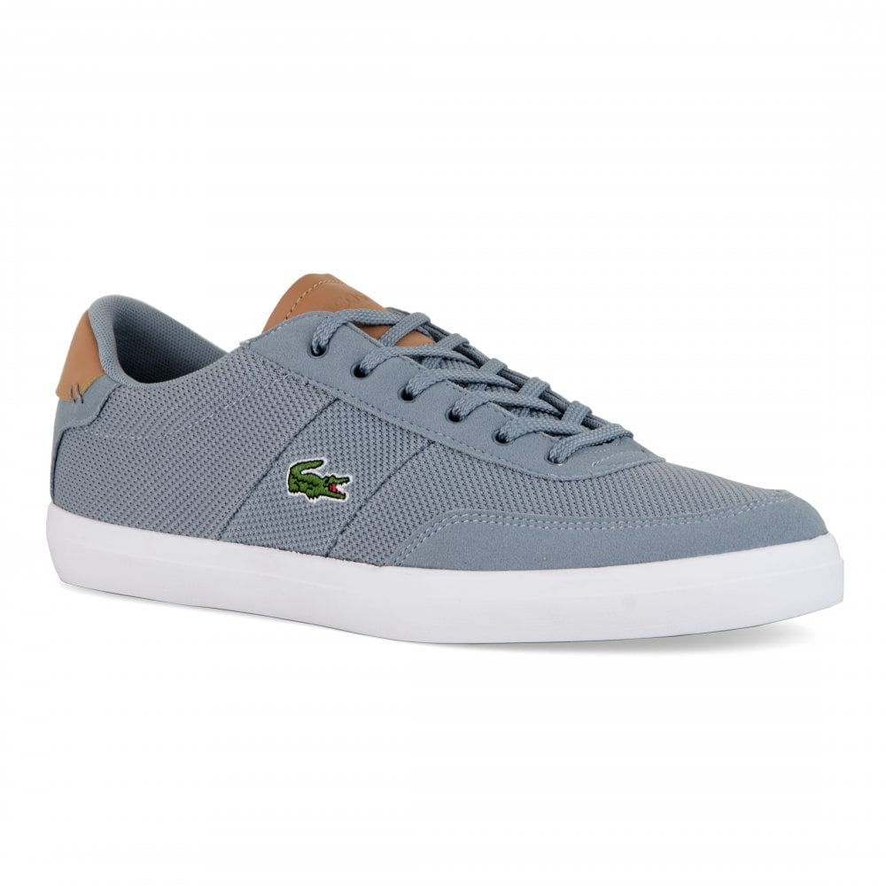c4d768b6f Lacoste Mens Courtmaster Trainers (Grey) - Mens from Loofes UK