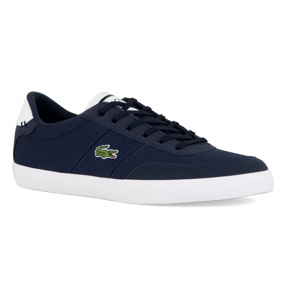 8c89d4171 Lacoste Mens Courtmaster Trainers (Navy) - Mens from Loofes UK