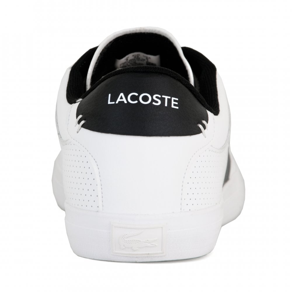 acf447bc9 Lacoste Mens Courtmaster Trainers (White) - Mens from Loofes UK