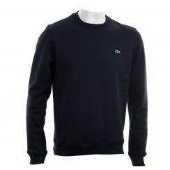 Lacoste Mens Crew Neck Sweat Top (Navy)