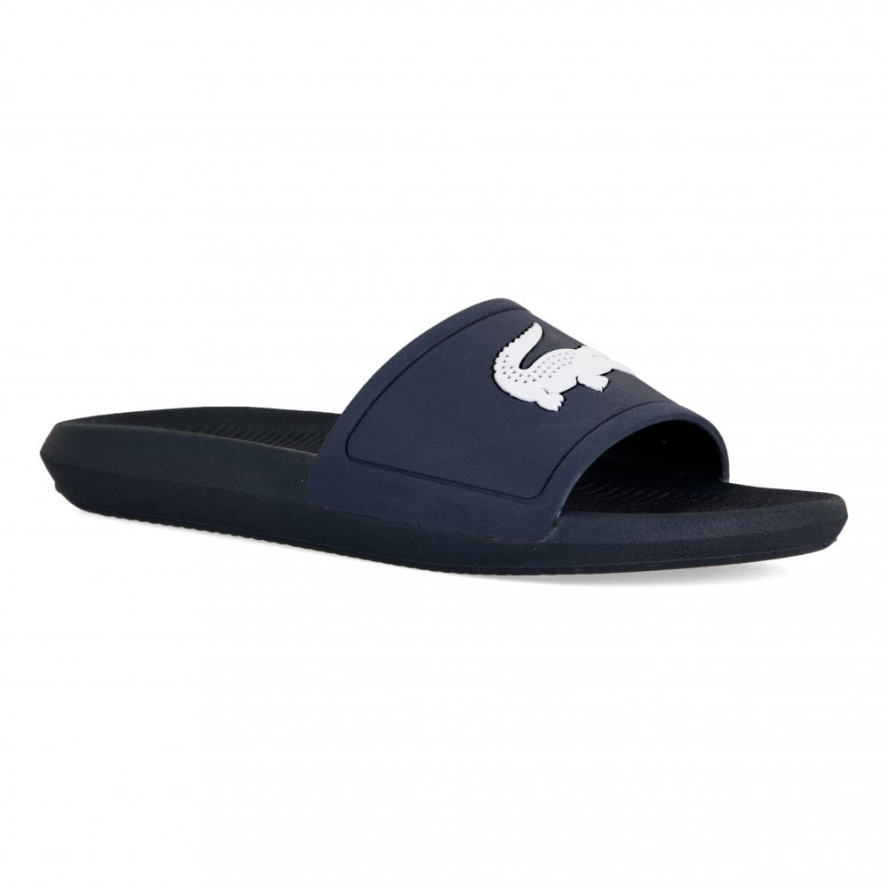 ff07be5bb Lacoste Mens Croco 119 Slides (Navy) - Mens from Loofes UK