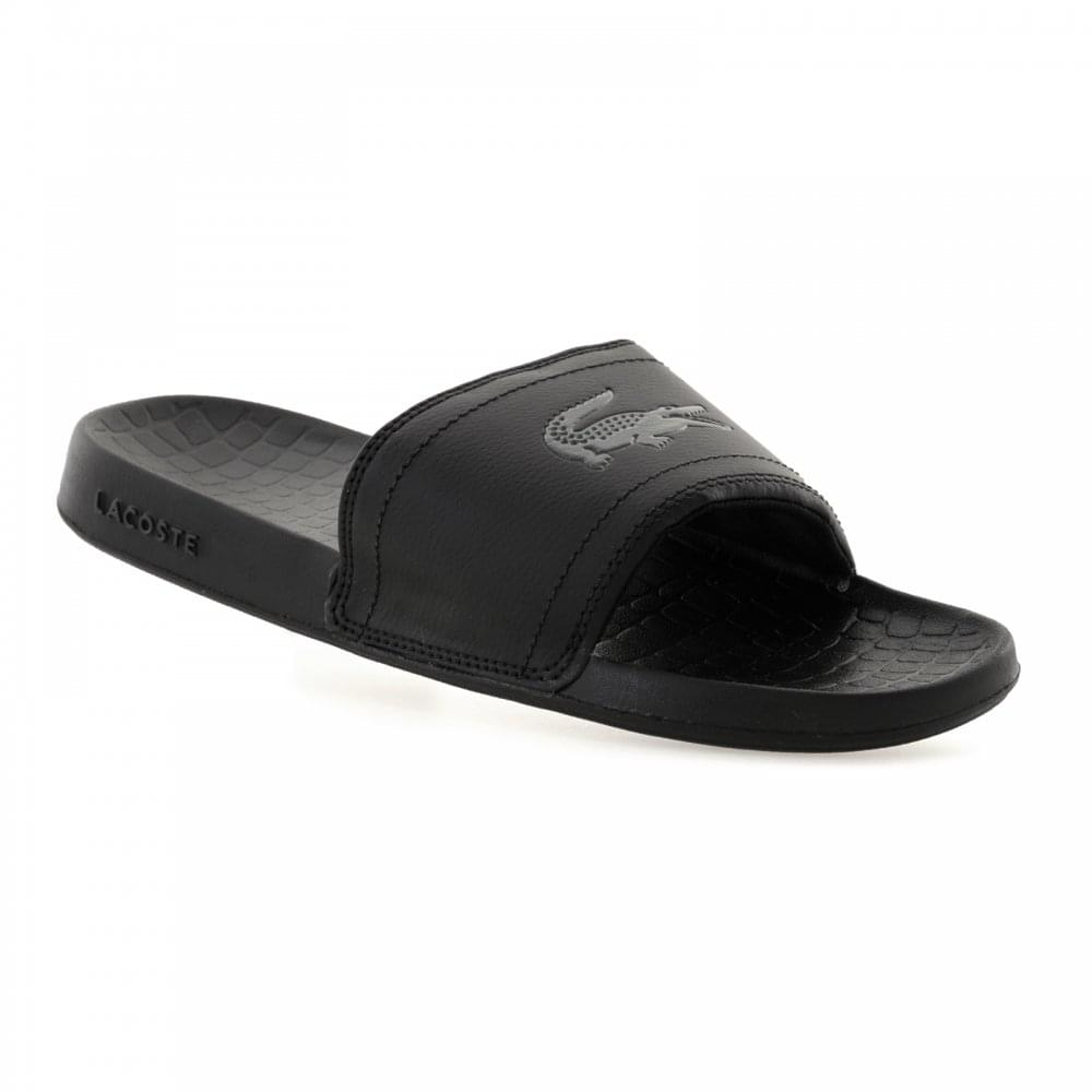 bf70d7571 Lacoste Mens Fraisier Slide Flip Flops (Black) - Mens from Loofes UK