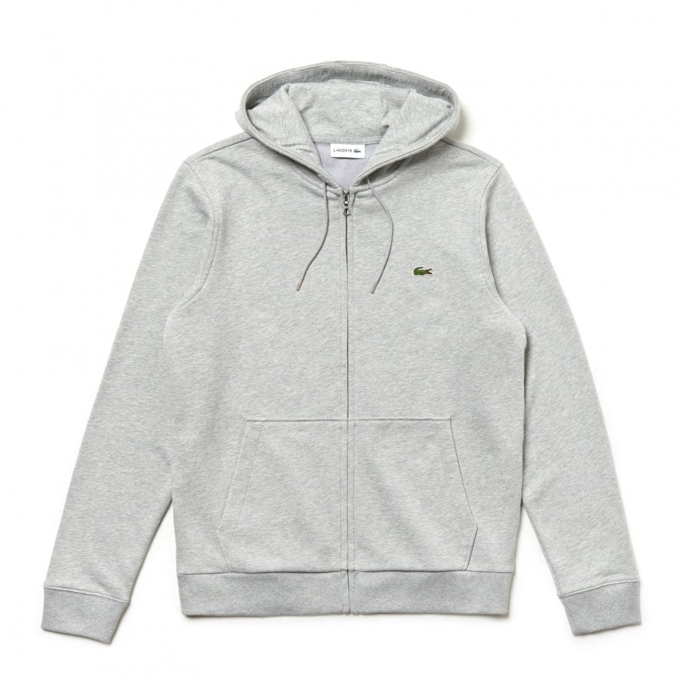 64113e0f31 Mens Full Zip Hoodie (Grey)