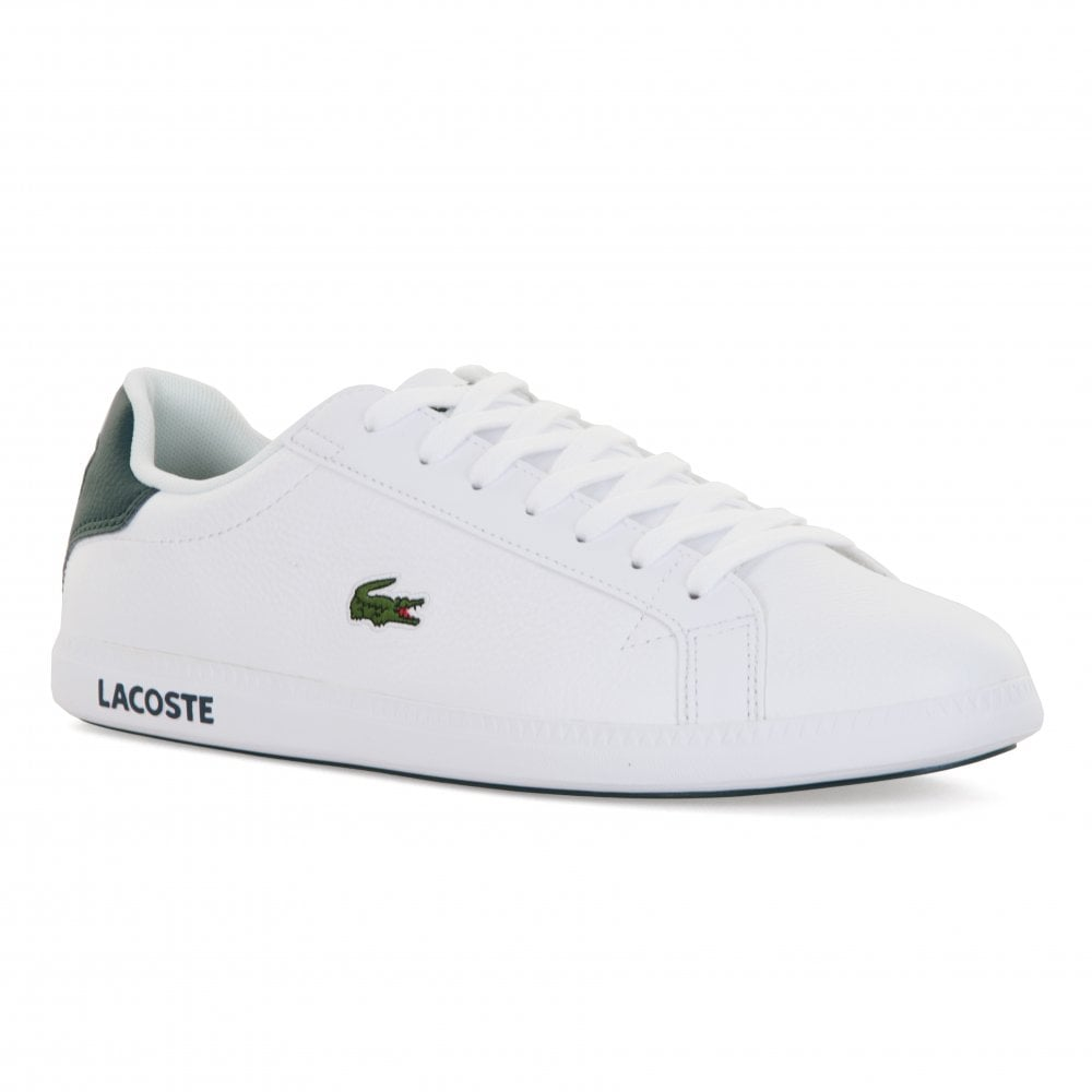 4149f7179 Lacoste Mens Graduate LCR3 Trainers (White) - Mens from Loofes UK