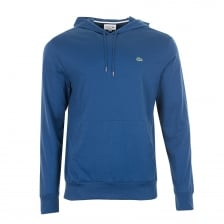Lacoste Mens Hooded T-Shirt (Blue)