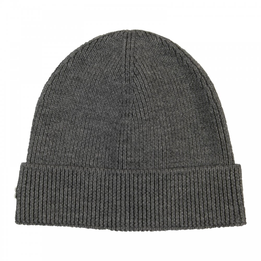 Lacoste Mens Knitted Beanie Hat (Grey) - Mens from Loofes UK 75ceb5b0b04