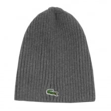 Lacoste Mens Knitted Cap (Grey)