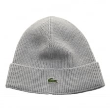 Lacoste Mens Knitted Hat (Grey)