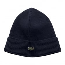 Lacoste Mens Knitted Hat (Navy)