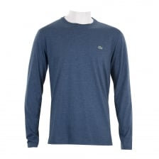 Lacoste Mens Long Sleeve T-Shirt (Dark Blue)