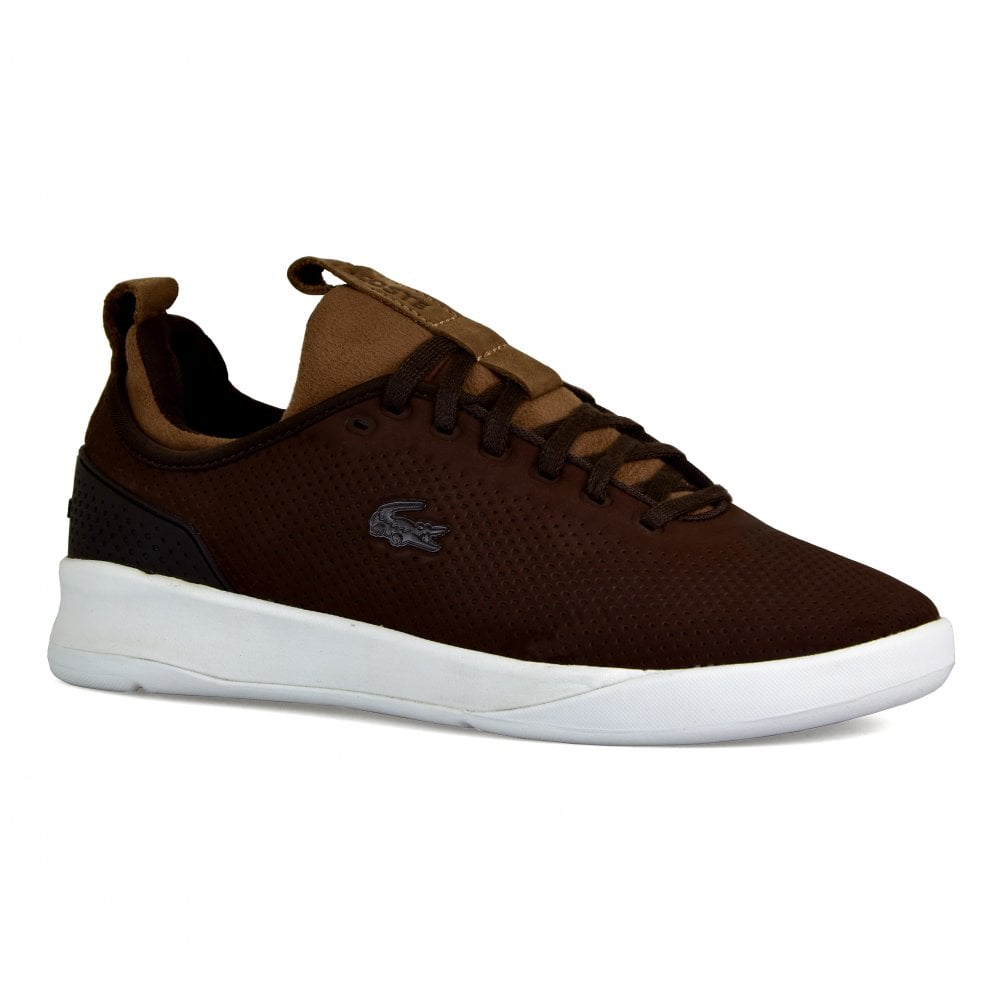 baa94215ee19 Lacoste Mens LT Spirit Trainers (Brown) - Mens from Loofes UK
