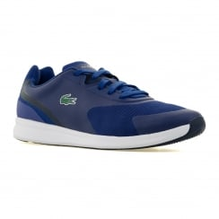 Lacoste Mens LTR 01 Trainers (Dark Blue)