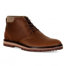 Lacoste Mens Montbard Chukka 417 Boots (Tan)