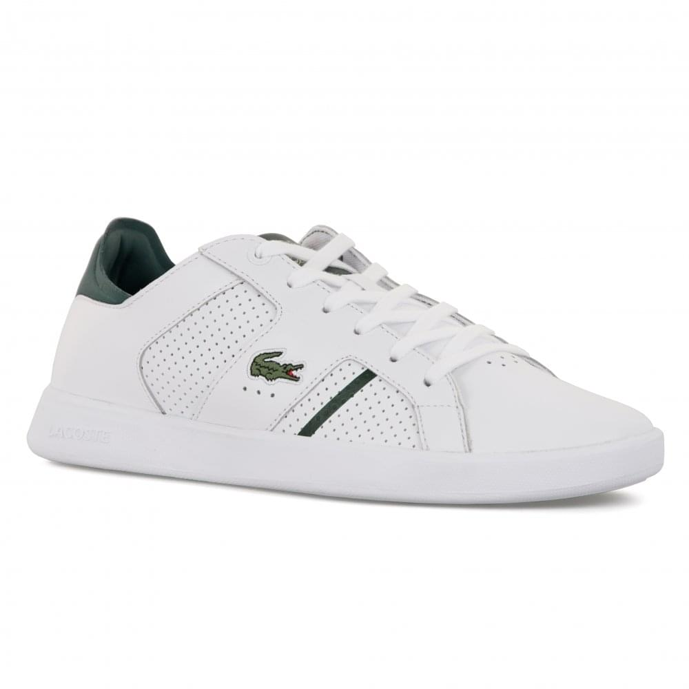 Lacoste Mens Novas CT Trainers (White) - Mens from Loofes UK f2b0d481f